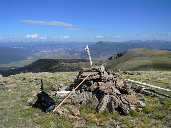 Fisher Mountain Summit