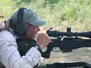 Lindy at TacPro Shooter Challenge, 2004